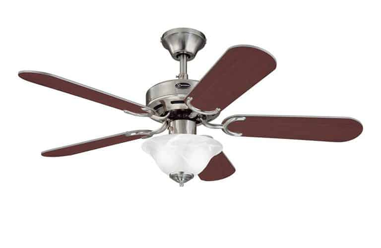 Westinghouse 7877365 Richboro SE Two-Light 42-Inch Reversible Five-Blade Indoor Ceiling Fan