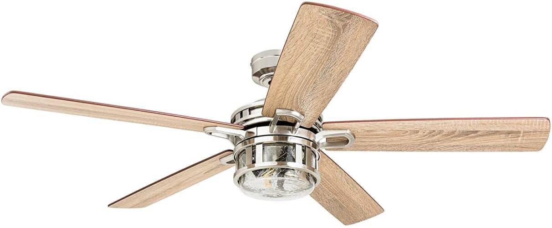 Honeywell Bonterra Edison Bulb Ceiling Fan
