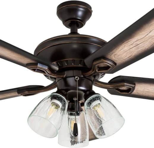 Prominence Home Ceiling Fan 40278-01 Glenmont