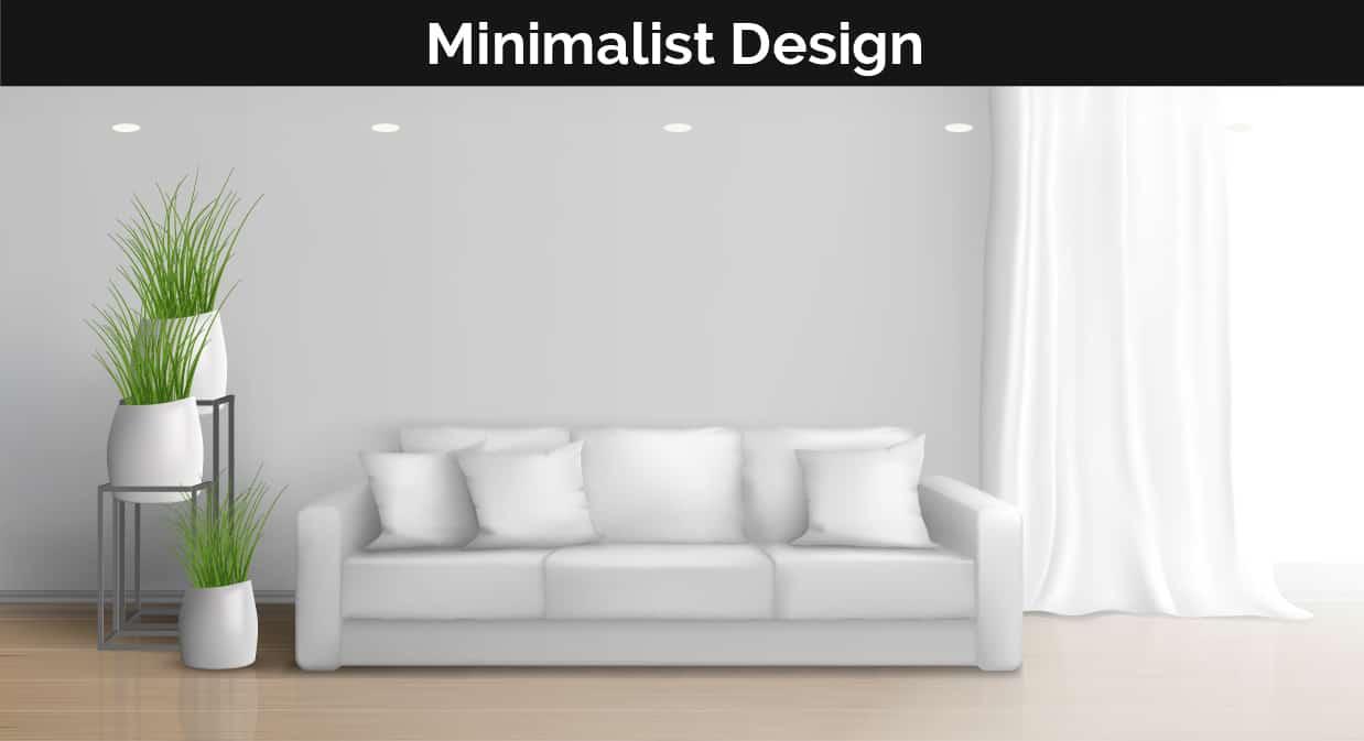 Minimalist decor illustration
