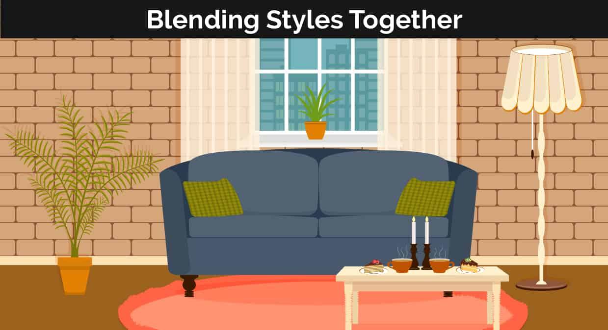 Blended styles decor illustration