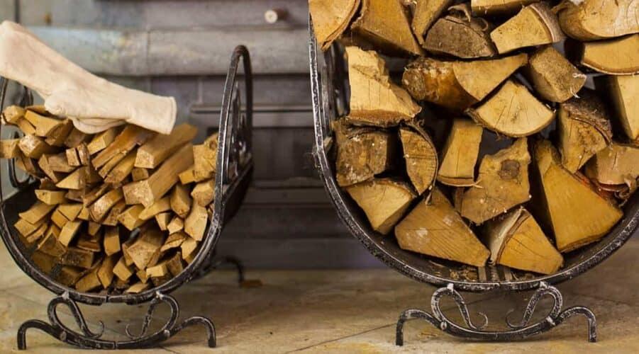 Decorative Firewood Rack