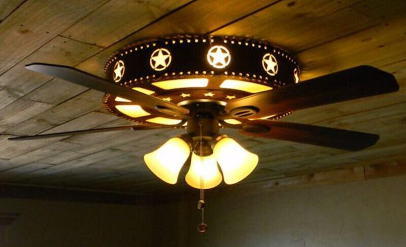 Texas Star Ceiling Fan