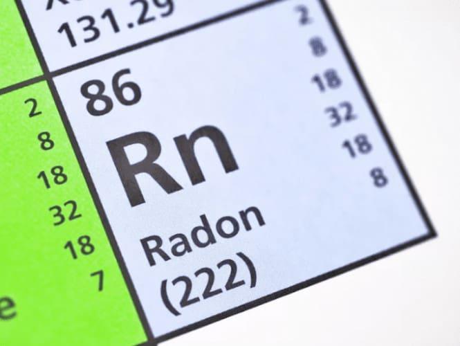 Radon Gas Symbol